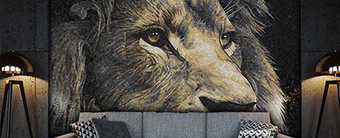 Animal Mural Mosaic Art