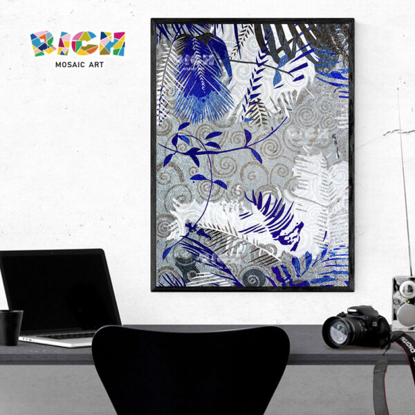 RM-AT02 Abstract Pattern Mosaic Art Mural For Background Wall