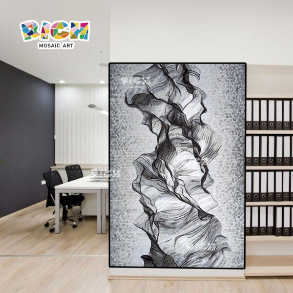 RM-ÀS03 preço de fábrica abstrato mosaico arte murais para venda