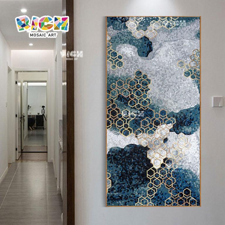RM-AT04 Art Decor Wall Corridor Backsplash Mosaic Mural