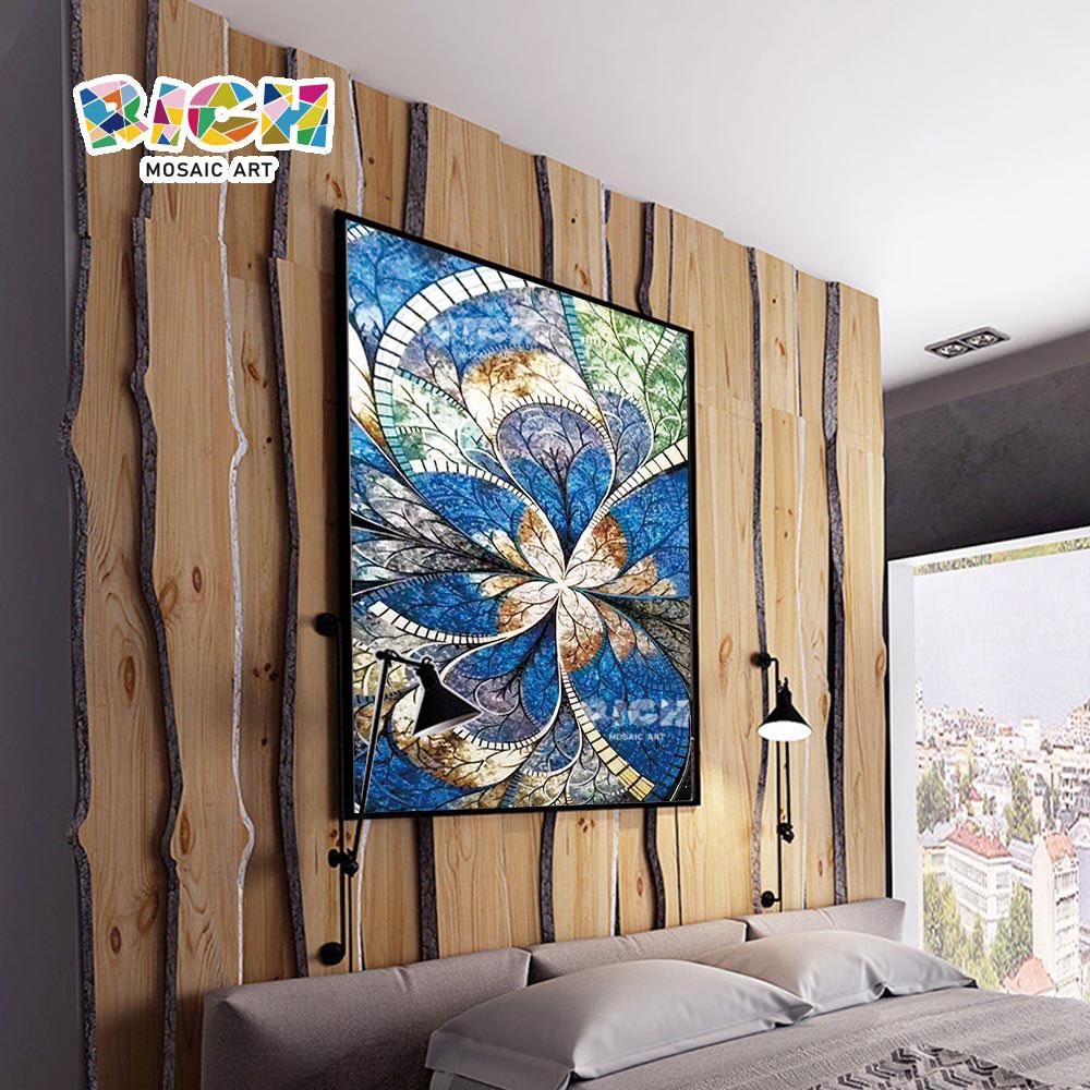 RM-AT15 Спальня стены Backsplash абстрактный узор Mural