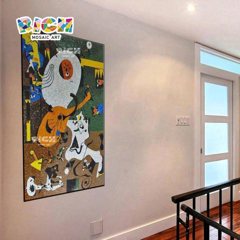 RM-AT19 abstrakte Bilder schöne Glas Mosaik Fliesen Art Muster