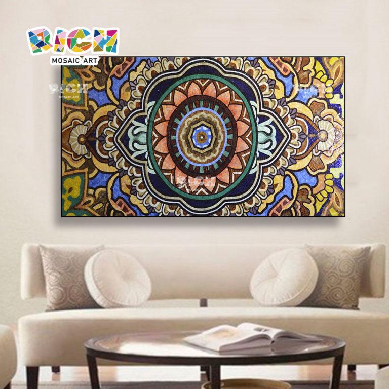 RM-AT21 Muslim Islamic Pattern Glass Mosaic
