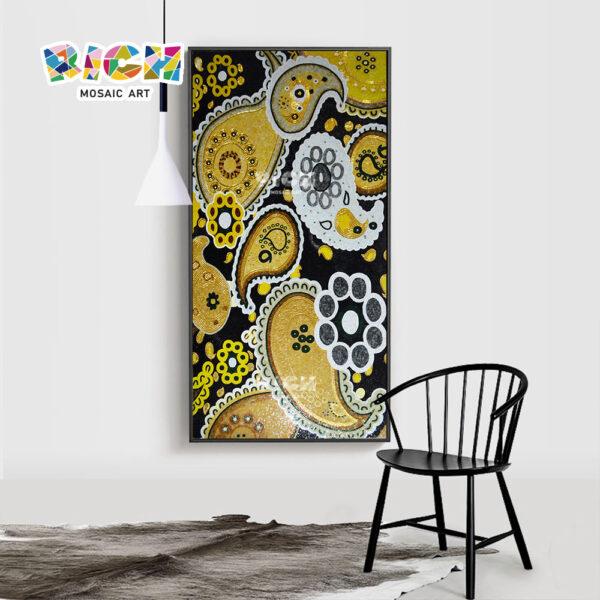 RM-AT23 Оптовая Абстрактная фабрика мозаики искусства цена плитки