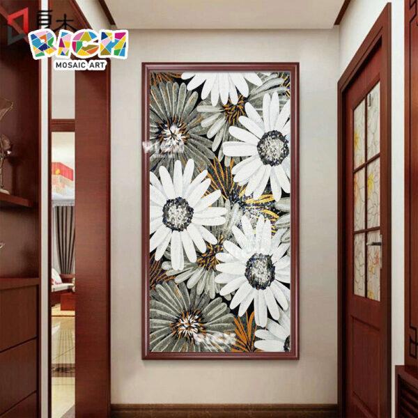 RM-FL36 flor padrão parede corredor Backsplash Mosaic