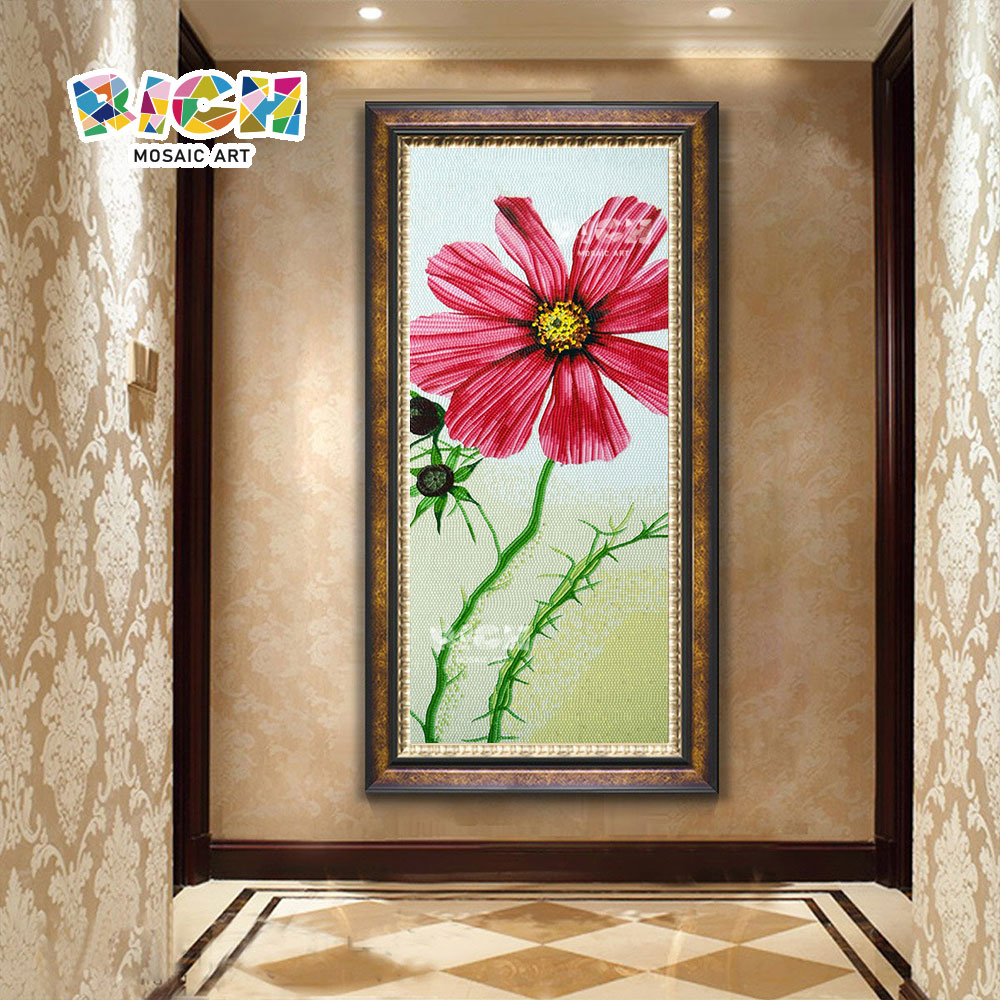 RM-FL56 tablero pared flor Mural arte