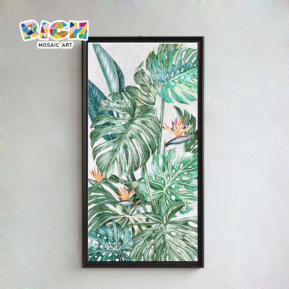 RM-FL60 Strelitzia Reginae Flower Painting Mural Pattern