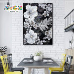 RM-FL66 diner kamer muur Backsplash Flower Art Mural