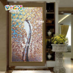 RM-FL69 Backsplash Wall Art 100% Handmade Mosaic Mural