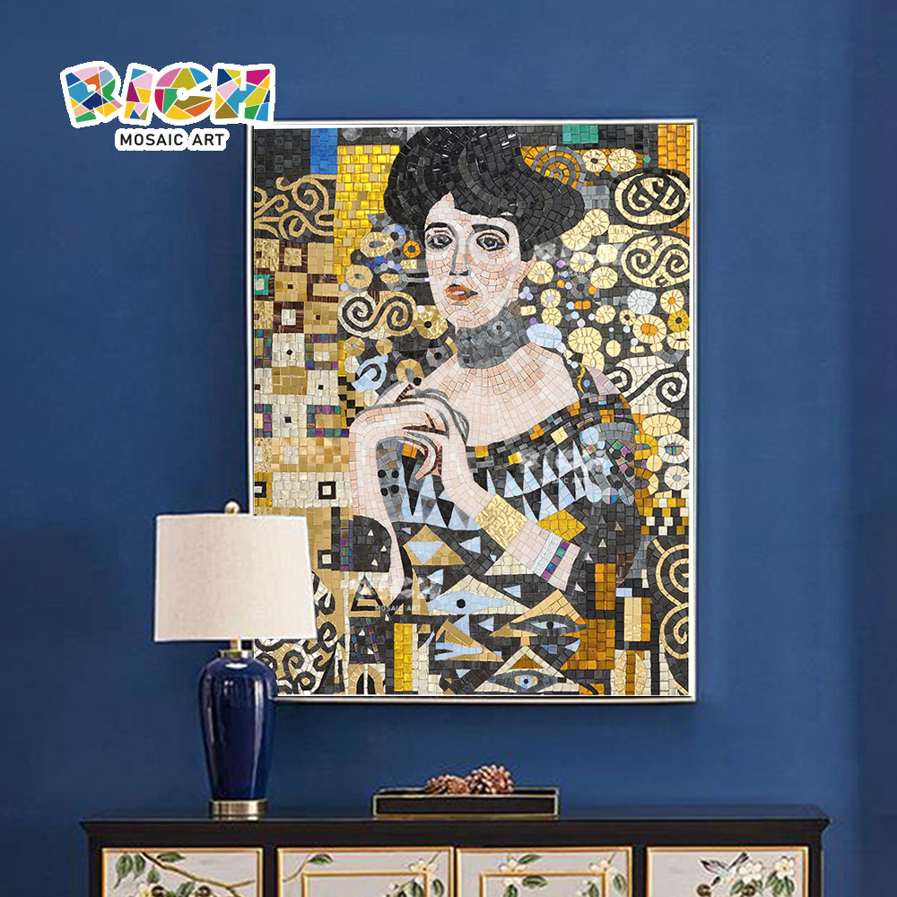 Adele Bloch Painting Mosaic