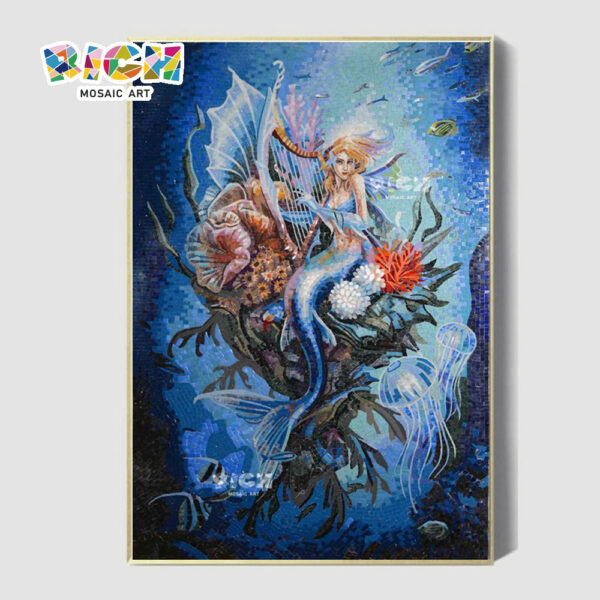 RM-AE06 Daughter Of The Sea Hanging Mosaic Tile For Home Decoration