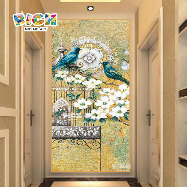 RM-AN25 Bird Mosaic Pattern For Background Wall Factory Wholesale