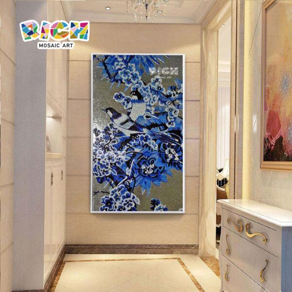 RM-AN33 Customized Mosaic Mural Wall Hanging For Backsplash
