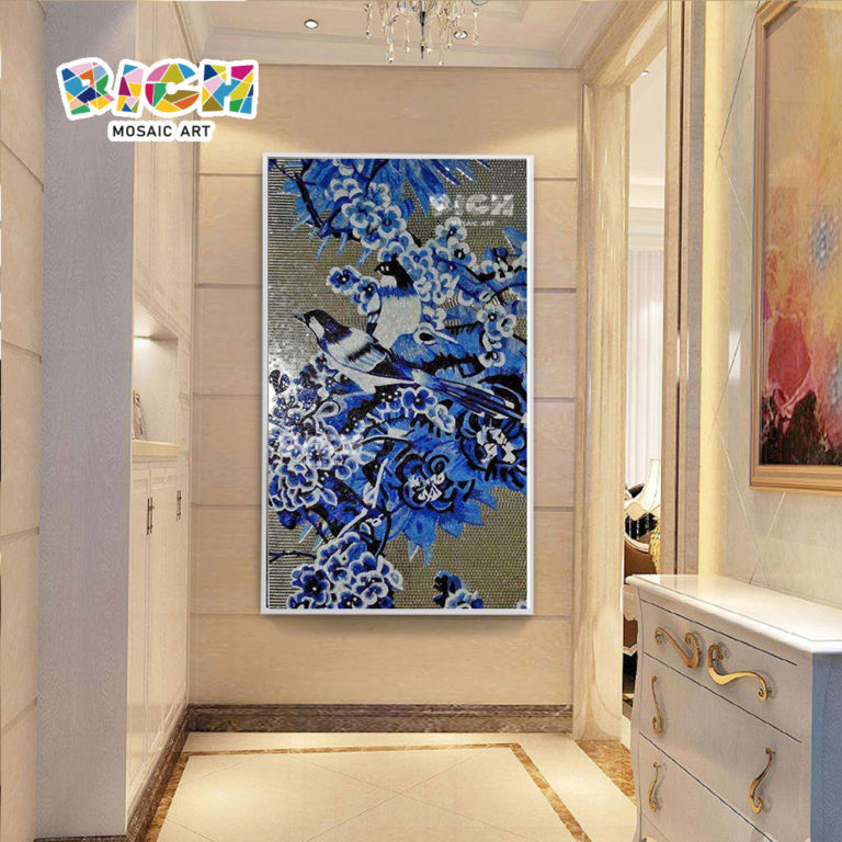 RM-AN33 Customized Mosaic Mural Wall Hanging For Backsplash