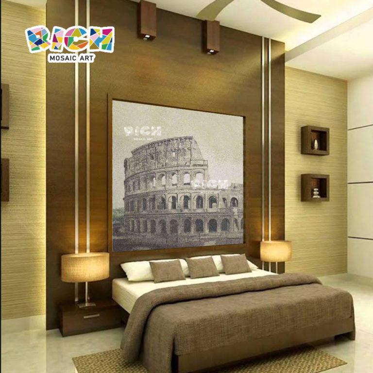 RM-AR11 Romeinse Colosseum fotomuur glas muurschildering idee