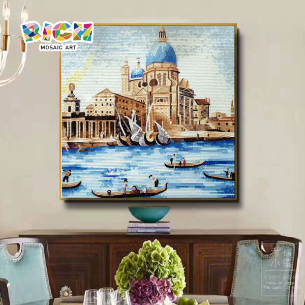 RM-AR18 Βενετία Τοίχο Μωσαϊκό ιταλική κτίριο γυαλί τοιχογραφία