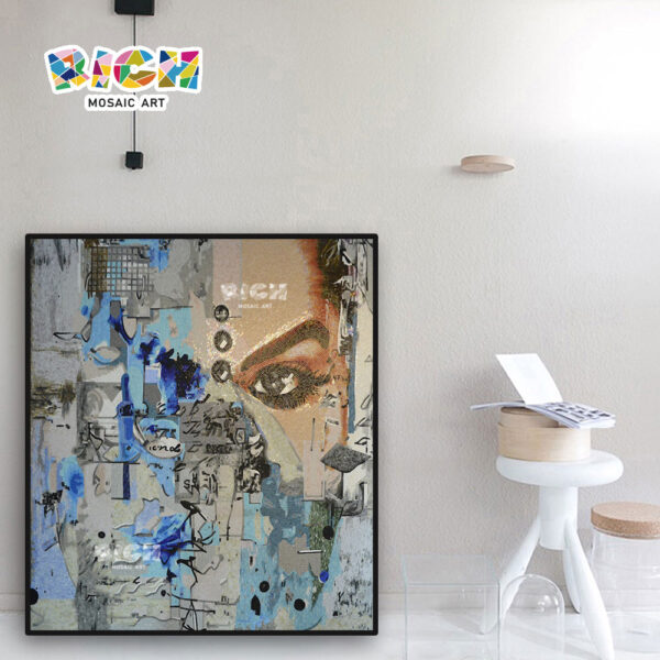RM-FI18 Street Graffiti Beauty Interior Design Art Mosaic