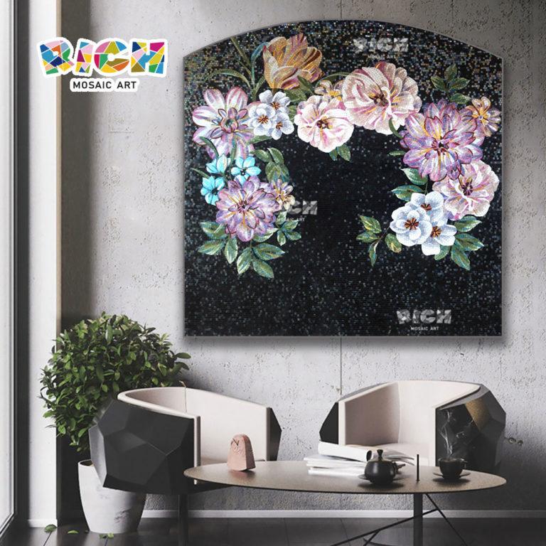 RM-FL79 Современные уникальные стены Искусство Декор Цветочные фрески