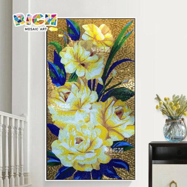 RM-FL87 mode TV achtergrond bloem muurschildering decoratie patronen