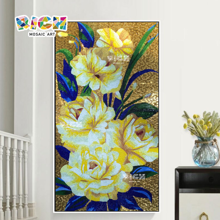 RM-FL87 Fashion TV Background Flower Wall Mural Decoration Patterns