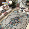 RM-FO01 Floor Flower Pattern Mosaic Art In Stone