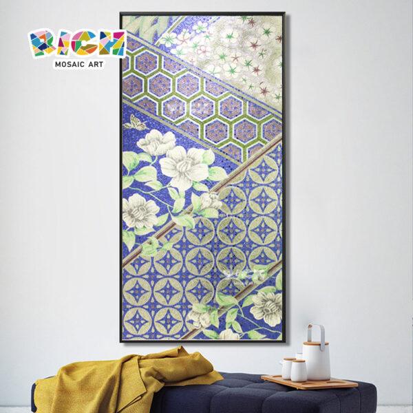 جمهورية مقدونيا-IN19 التصميم الأنيق شنق الإبداعية فسيفساء رسام الديكور البيت