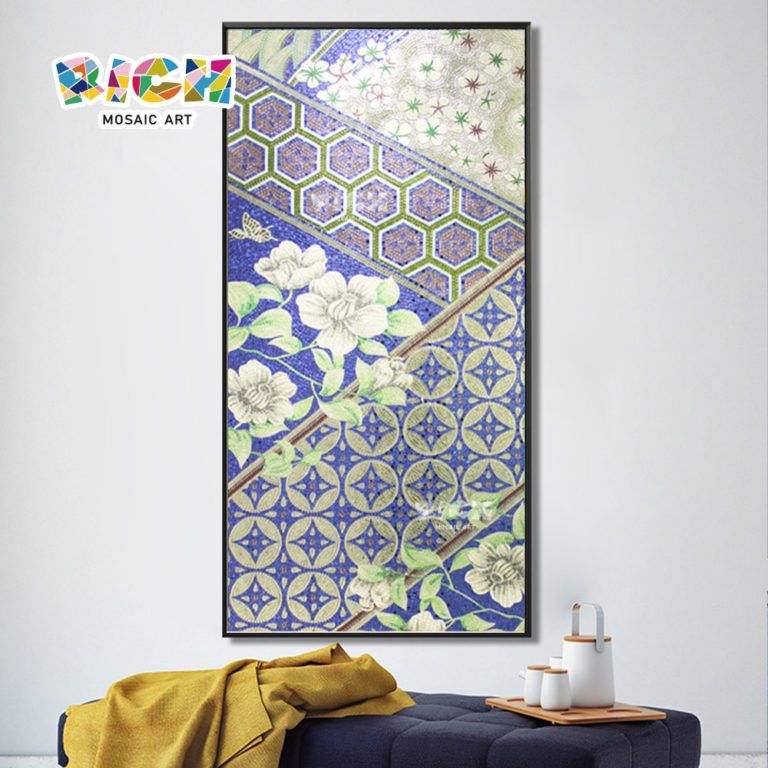 RM IN19 ออกแบบสร้างสรรค์โมเสกแขวนตกแต่งบ้านจิตรกร