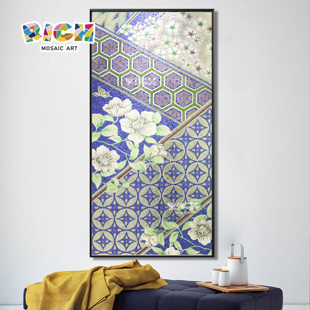 RM-IN19 diseño elegante mosaico creativo pintor casa decoración de la caída