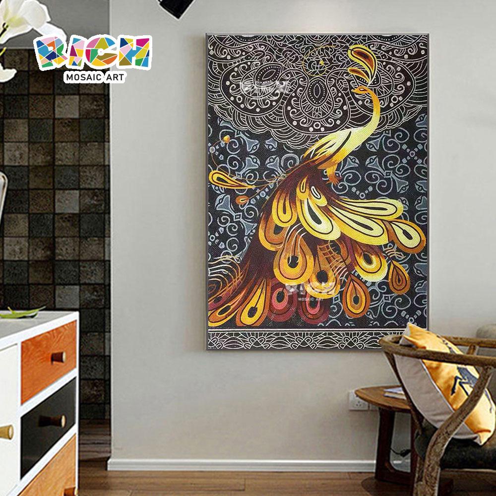 RM-IN20 Holy Phoenix excelente criativo mosaico design mural