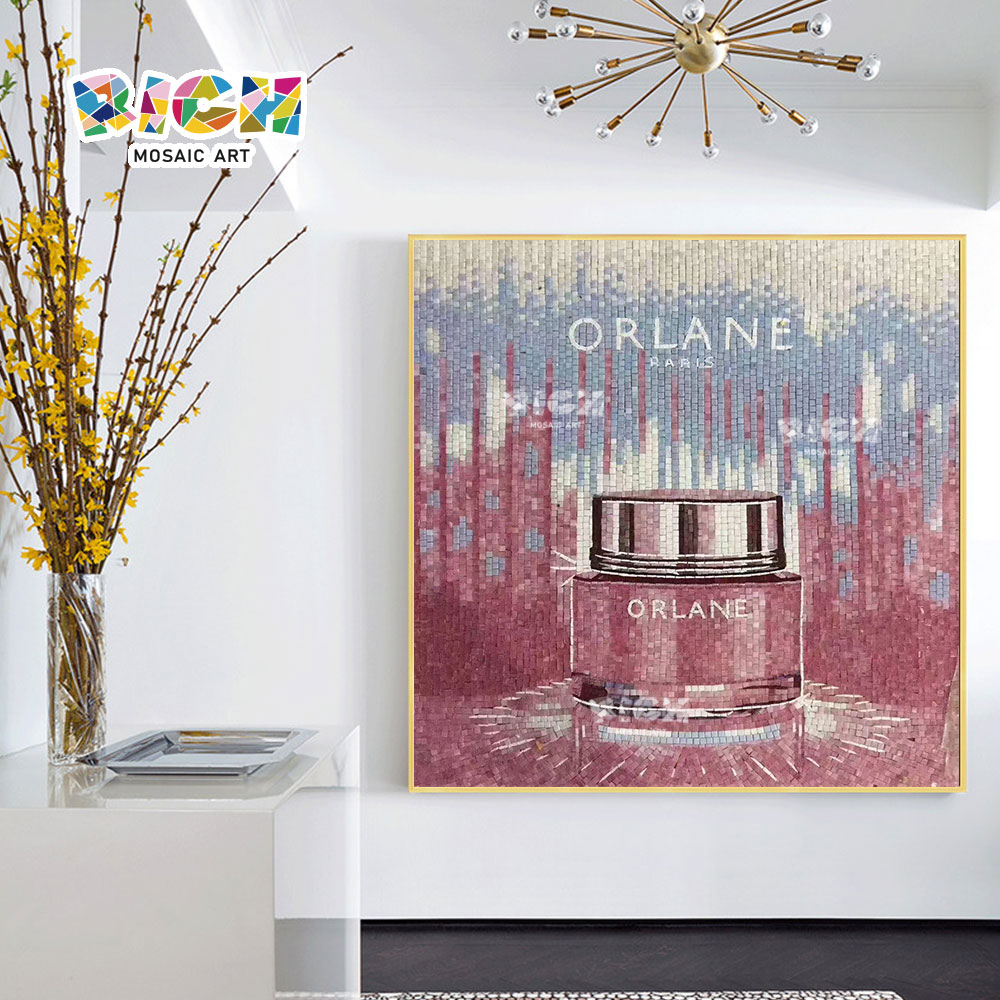 RM-IN23 Orlane marca produto criativo mosaico padrão para promover