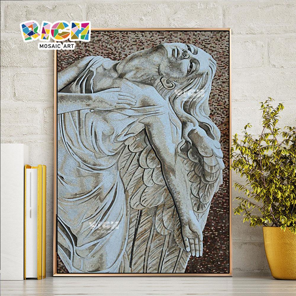 RM-RG03 Griekse mythologie godin mozaïek kunst schilderijen muurschildering