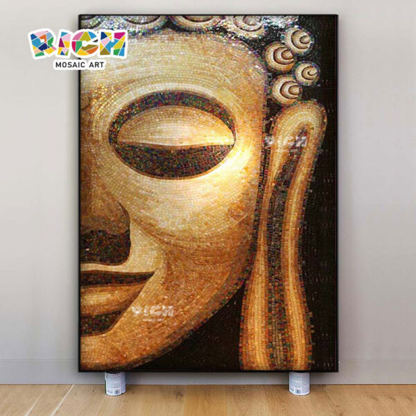 RM-RG04 Thai Colleagues Believers Household Background Wall Mosaic Decoration