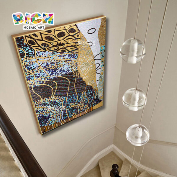 RM-RG05 Staircase Luxurious Abstract Mosaic Background Wall