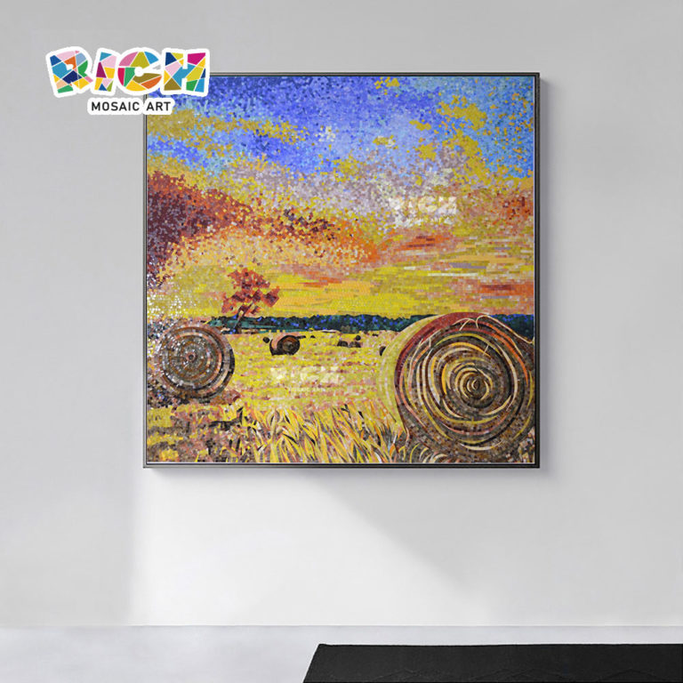 RM-RG10 Harvest Picture Home Leisure Decorative Mosaic Art