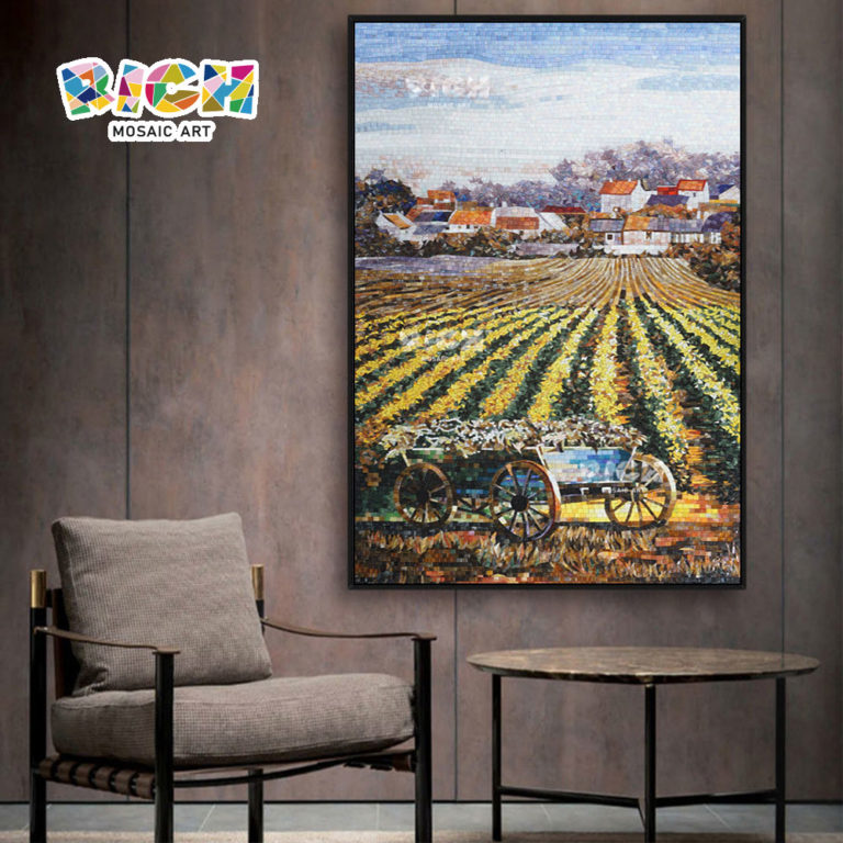 RM-SC06 Countryside Harvest Scenery Mosaic