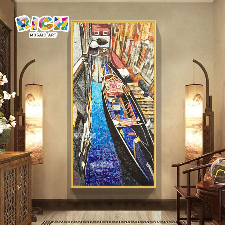 RM-SC25 Wall Decoration Landscape Mosaic Of Venice Italy