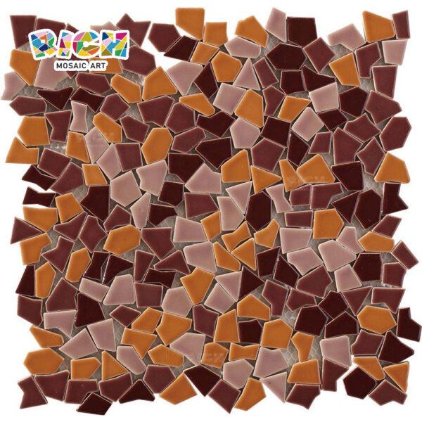 RM-CAT02 Broken Ceramic Tile Irregular Radom Style Mosaics