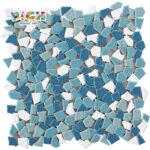 RM-CAT03 Piscina Design Mosaico de Cerâmica Azulejos não deslizantes