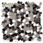RM-CAT05 Garden Road Mosaic tiles Floor Art