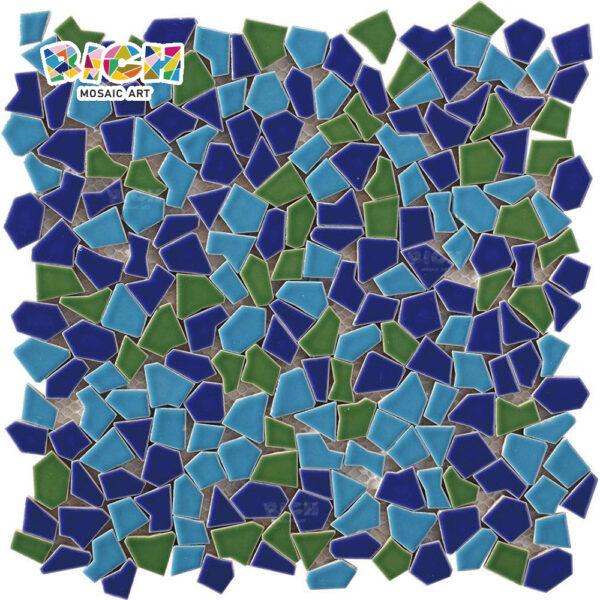 RM-CAT07 Deep Forest Style Noord-Europa decoratieve achtergrond van gebroken mozaïek tegels