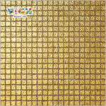 RM-SG01 Sandwich Front Gold Mosaic Loose Chips tile