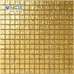 RM-SG05 High Quality Bottom 24K Foil Gold Mosaic pour piscine de luxe