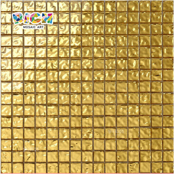 RM-SG09 8mm Thickness Gold Tiles Non-slip Mosaic for Floor
