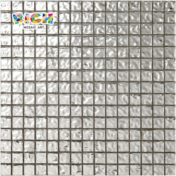 RM-SG10 Silver Gold Tiles 8mm Durable Swimming Pool Floor Tile