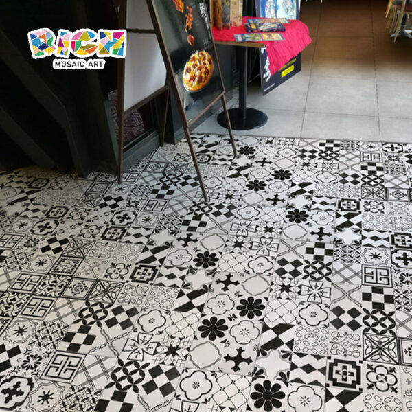 AAA Grade Spanish-style Design Wear and Fade Resistant Tile