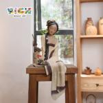 RM-CSF08 أنيقة الجمال الصينية التقليدية الديكور السيراميك الحرف اليدوية