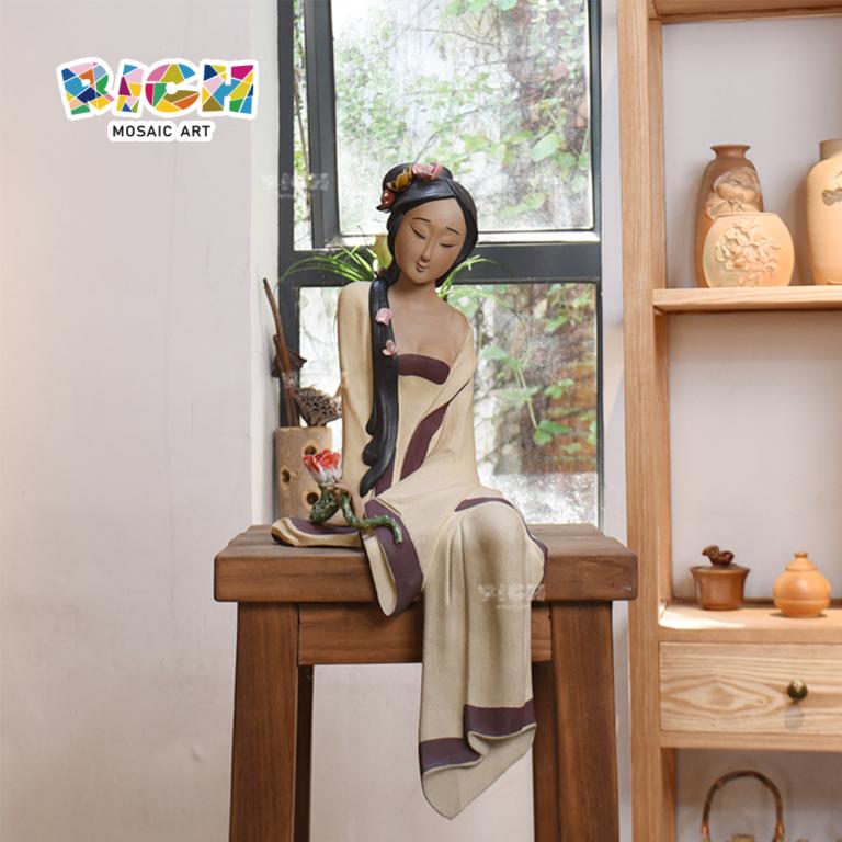 RM-CSF08 Elegante Decoração tradicional chinesa Decoração Cerâmica Artesanato