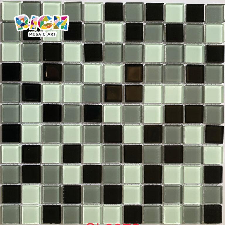 RM-CMP02 Mischfarbe Glas Mosaik Badezimmer Wandfliese