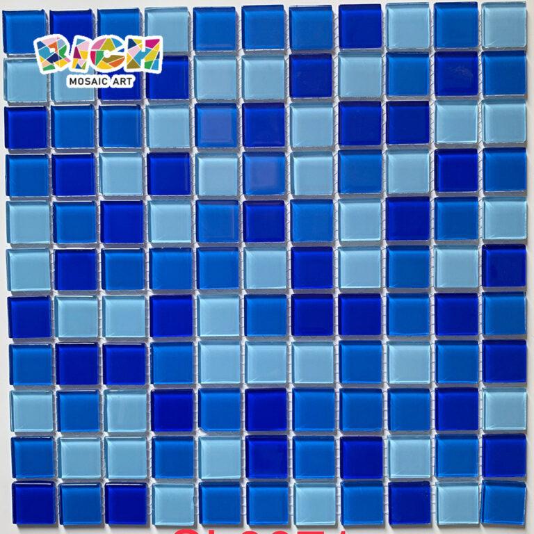 RM-CMP03 Schwimmbad Glas Blaue Mosaiken in günstigem Preis