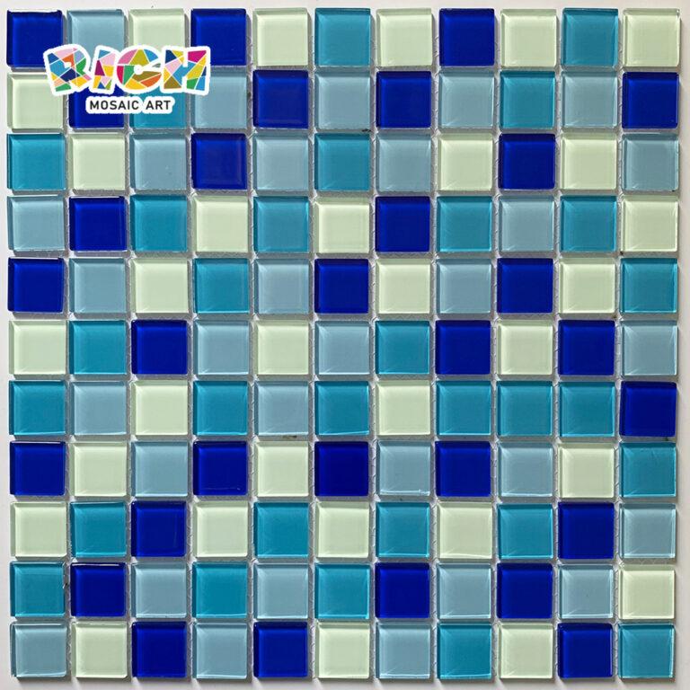 RM-CMP10 γυάλινο κεραμίδι μικτό μωσαϊκό τοίχων χρώματος 25X25 χιλ.